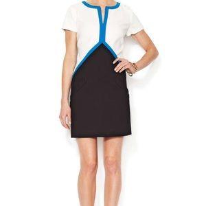 Shoshanna Zip-Front Sheath Dress